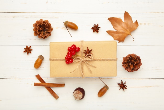 秋の作曲とプレゼント
