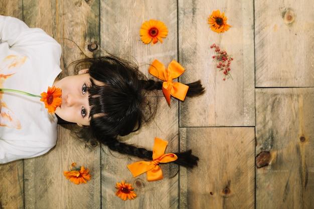 아이 입에 꽃을 데가 개념