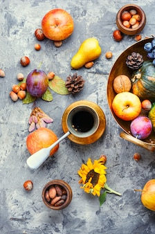Autumn fall still life