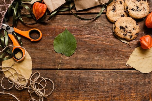 가을 축제 배경 평면도.