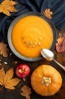 Autumn food pumpkin seeds