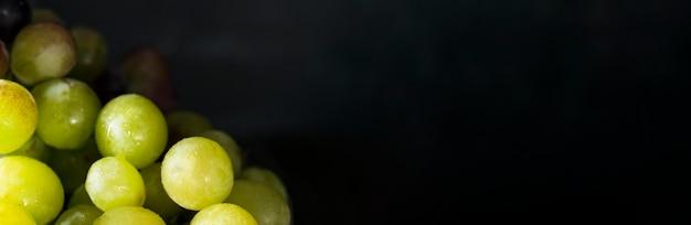 Осенний виноград с копией пространства Premium Фотографии