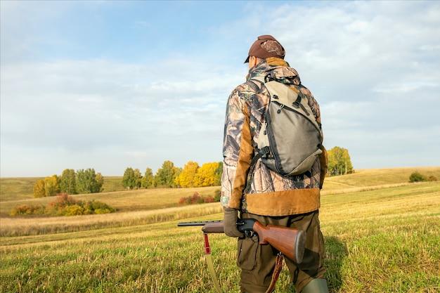 Autumn hunting season.