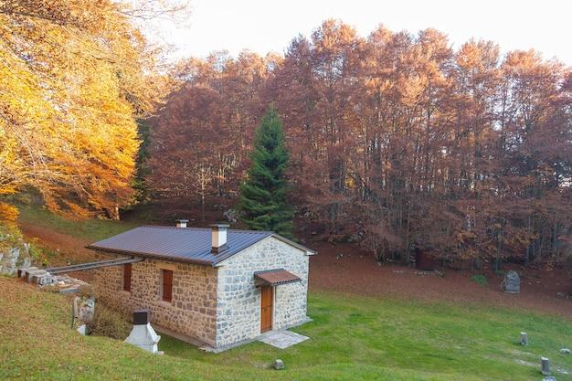 Осенний горный пейзаж