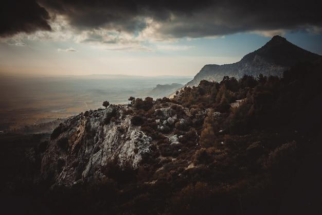 Autumn on a mountain top