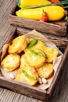 Autumn muffins from zucchini