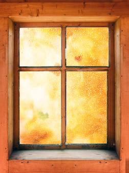 Осень за окном
