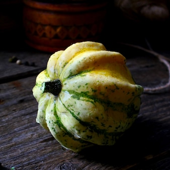 Autumn pumpkin crown
