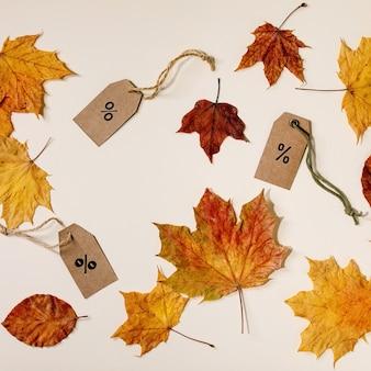 秋のセールコンセプト