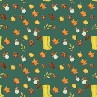 秋の要素パターン