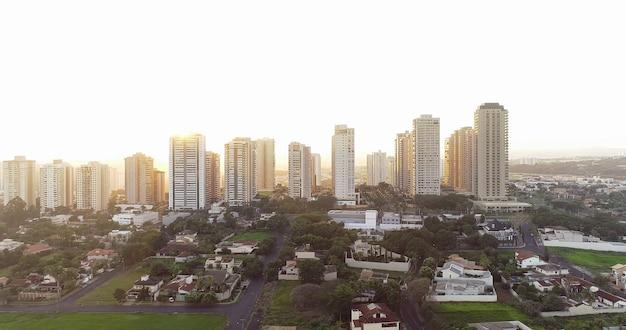 Авенида профессора жозе о фиеса, самая известная авеню в рибейру-о-прету, сан-паулу / бразилия.