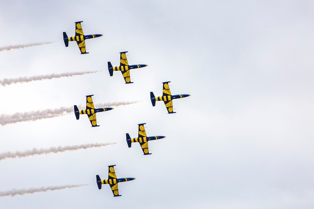 Avia show - exhibition aircrafts