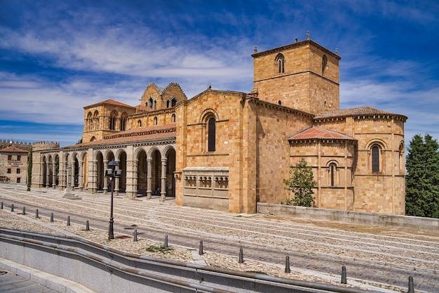 スペインのアビラ市