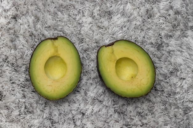 Avocado on the carpet
