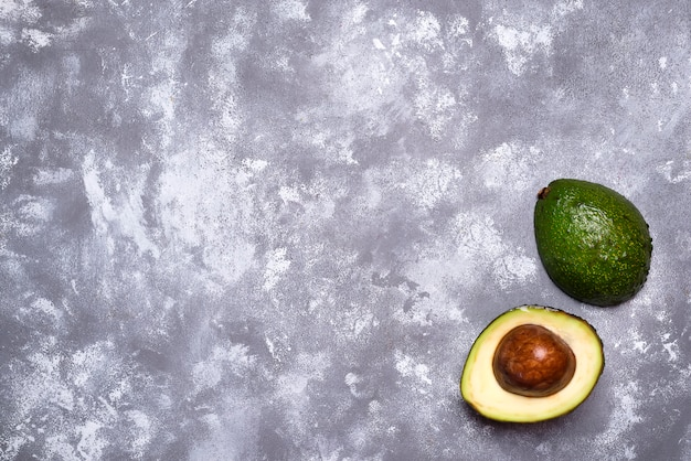 Avocado. cut avocado