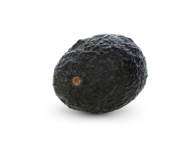 Плоды авокадо на белом