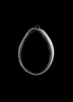 Авокадо силуэт
