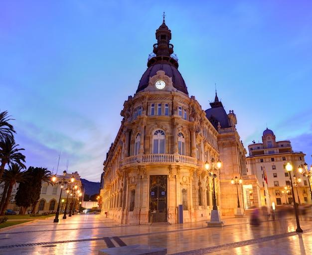 Ayuntamiento de cartagenaムルシア市庁舎スペイン