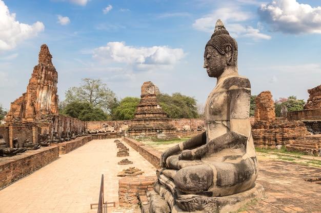 タイ、アユタヤのアユタヤ歴史公園