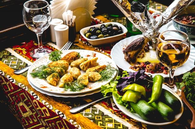 Баклама с овощами по-азербайджански