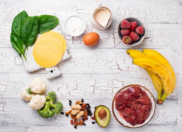 ビタミンb7ビオチンの天然源