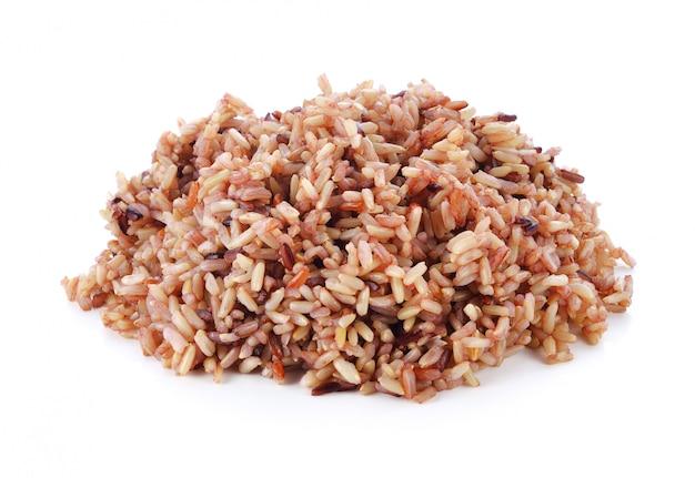 白bの赤米