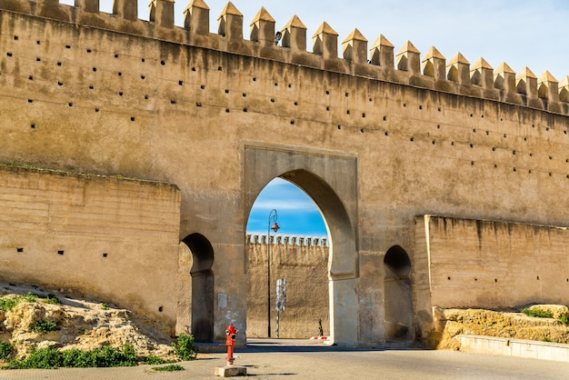Bab chems, a gate of fes - morocco
