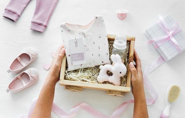 Baby girl baby shower gift