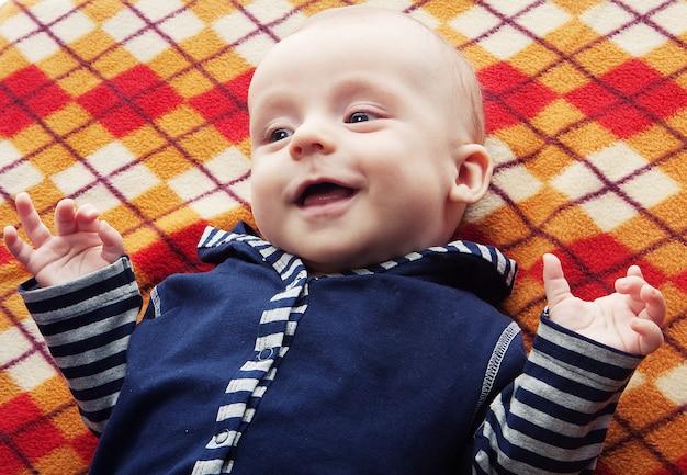 Baby, happy smile, good day