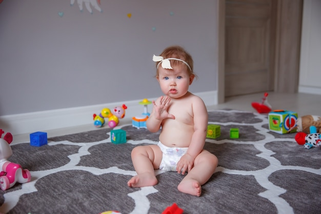 Baby, home, diapers, baby, toys