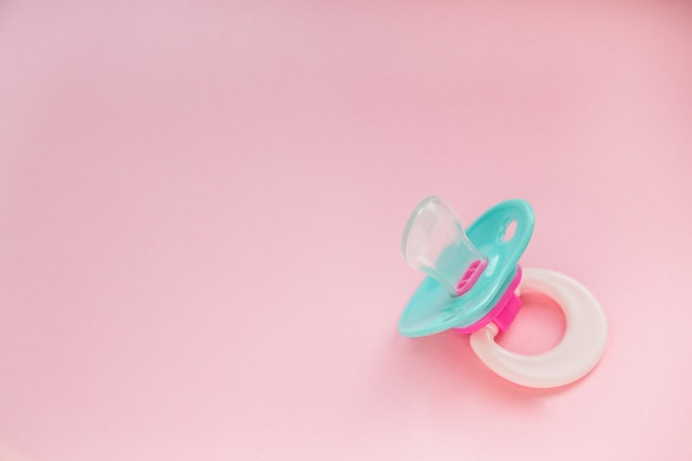 Baby pacifier mint blue