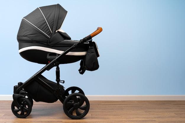 Baby stroller indoor