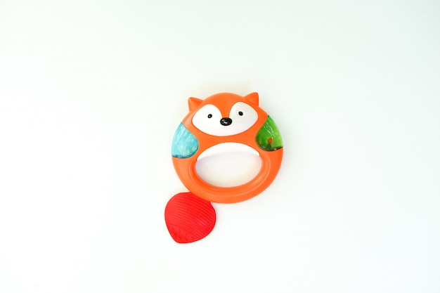 Baby toy fox. toys for newborn child