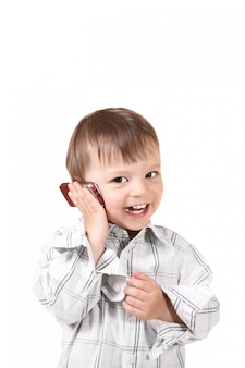 携帯電話で赤ちゃん