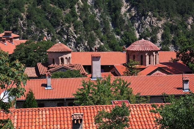 Bachkovo is ancient monastery in bulgaria