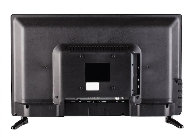 Задняя часть современного плоского телевизора