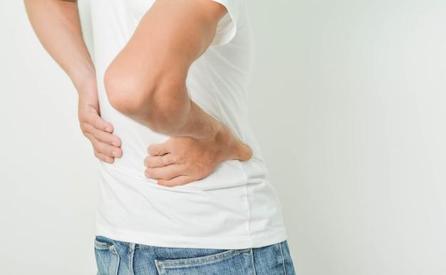 Back pain in men