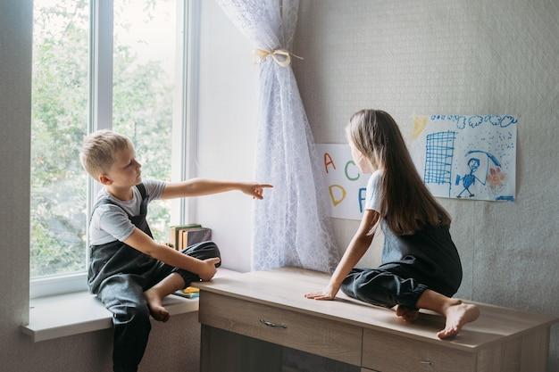 Back to school homeschooling online study home quarantine online learning education schoolchildren