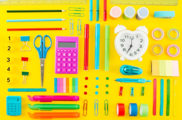 Back to school witch school supplies