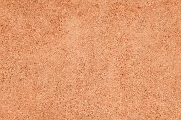 茶色の革の質感の裏側