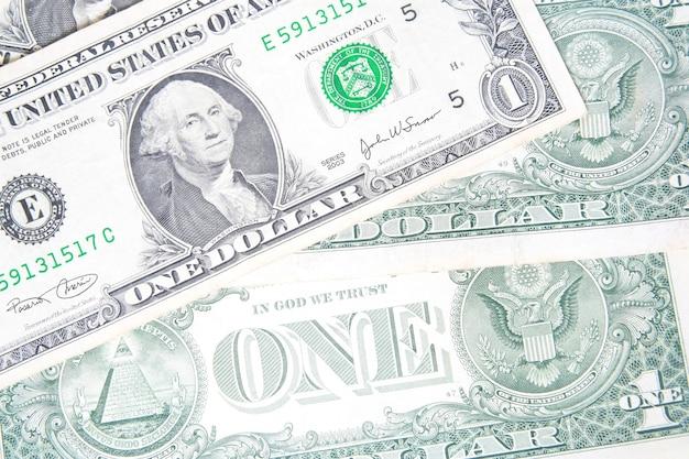 Оборотная сторона фона долларовых купюр
