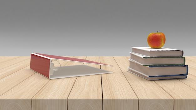 Обратно в школу 3d визуализации