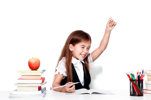 학교로 돌아가다! 교육, 읽기 및 학습의 개념입니다.