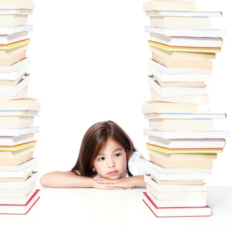 Обратно в школу. концепция образования, чтения и обучения.