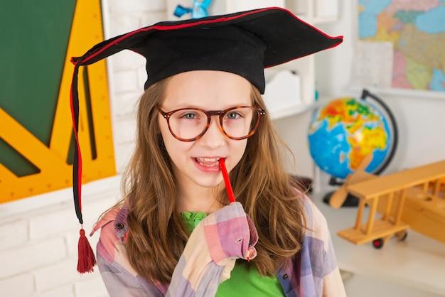 학교 아이 교육 및 학습 개념으로 돌아가기