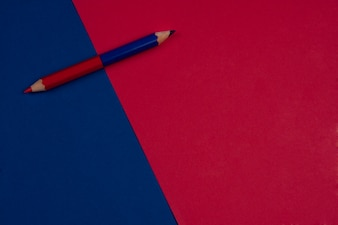 Back to School Red and Blue Background