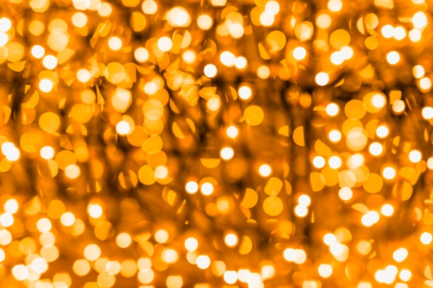 Backdrop of an illuminated glowing bokeh