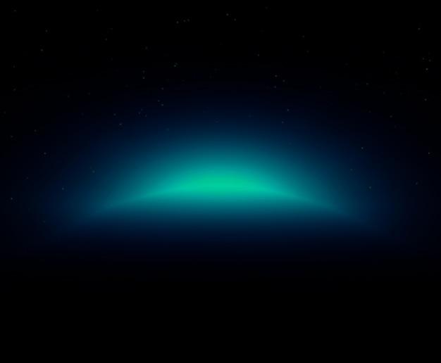 星とダークブルー銀河スペースが十分に天文学のbackgrouとして使用します