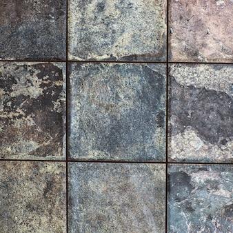 배경 및 질감 장식 회색 돌 벽