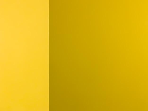 背景と黄色の壁の隅のテクスチャ。